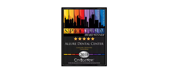 Allure Dental Center Spectrum Award Four Years and Counting